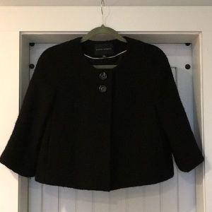 Banana Republic wool cropped jacket